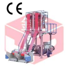 Máquina de sopro certificada dobro da cabeça do filme da CE