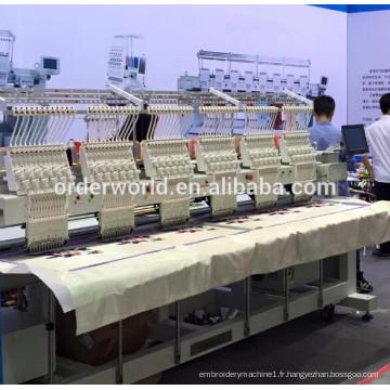 Machine de broderie 6 chefs 9 Aiguilles OEM-906C 30 Liquidation Ventes