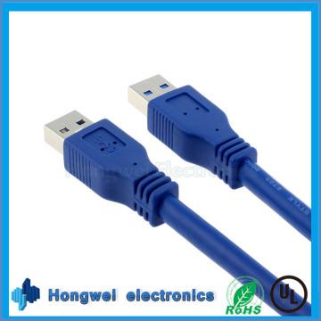 USB3.0 Am to Am Kabel Blau Kabel