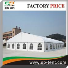 18x20m Giant Curved Outdoor Event Marquage Tentes pour exposition Fête de mariage Sports Différentes utilisations