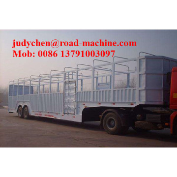 15m Kendaraan Car Carrier semi trailer