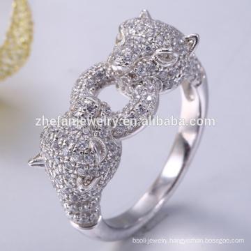 Fashion cheap silver 825 wedding ring