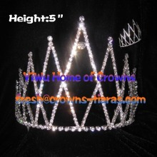 5inch Rhinestone Pageant Crowns