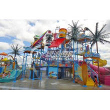 Funny Indoor or Outdoor Aqua Playground with Fiberglass Two