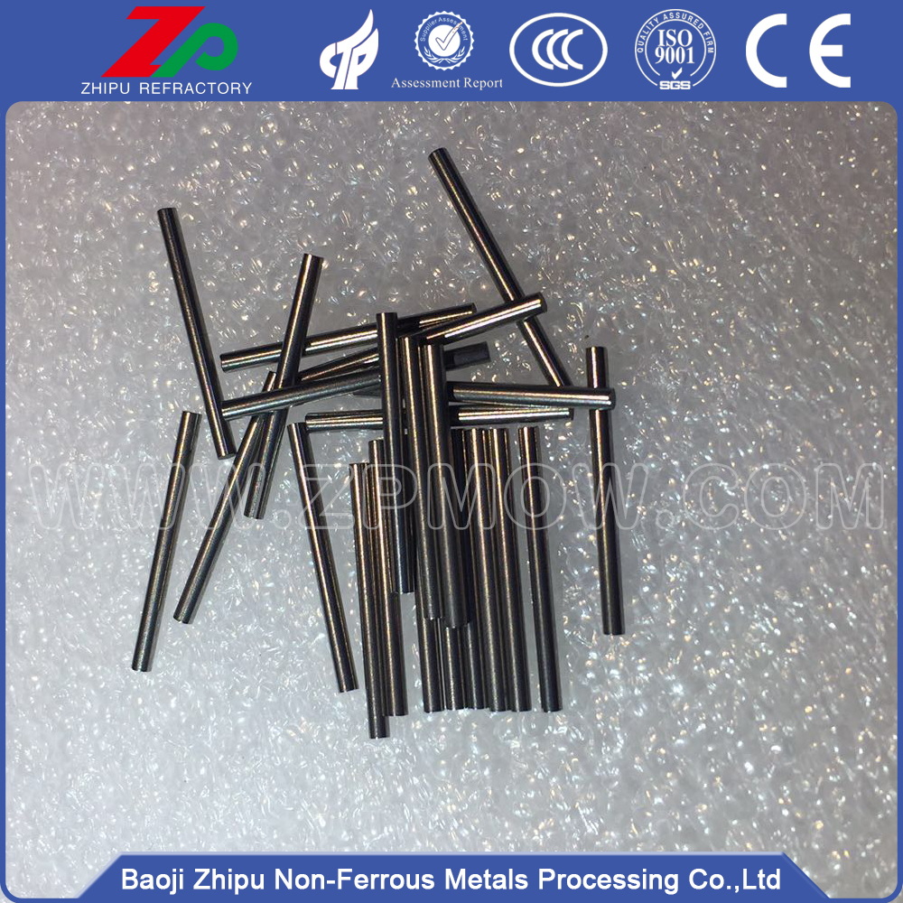Heating tungsten needle for vacumm electroplating