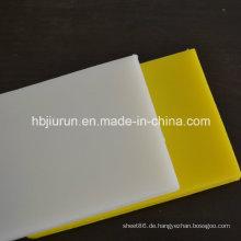 Verschleißfeste PE-Kunststoffplatte