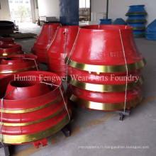 Pièce détachée OEM Shanbao Metso High Manganese Crusher