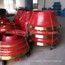 OEM Shanbao Metso High Manganese Crusher Spare Parts