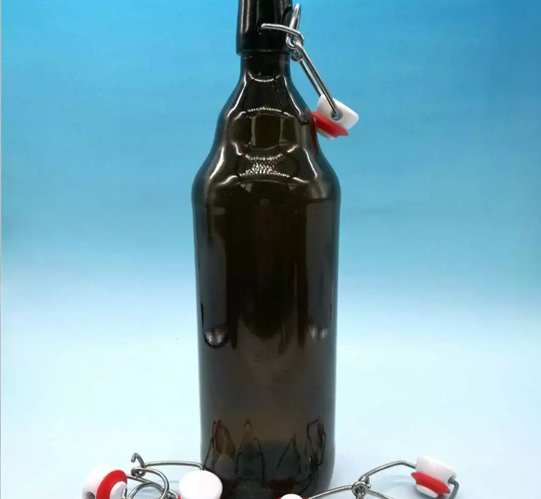 Home-made brewed bottle