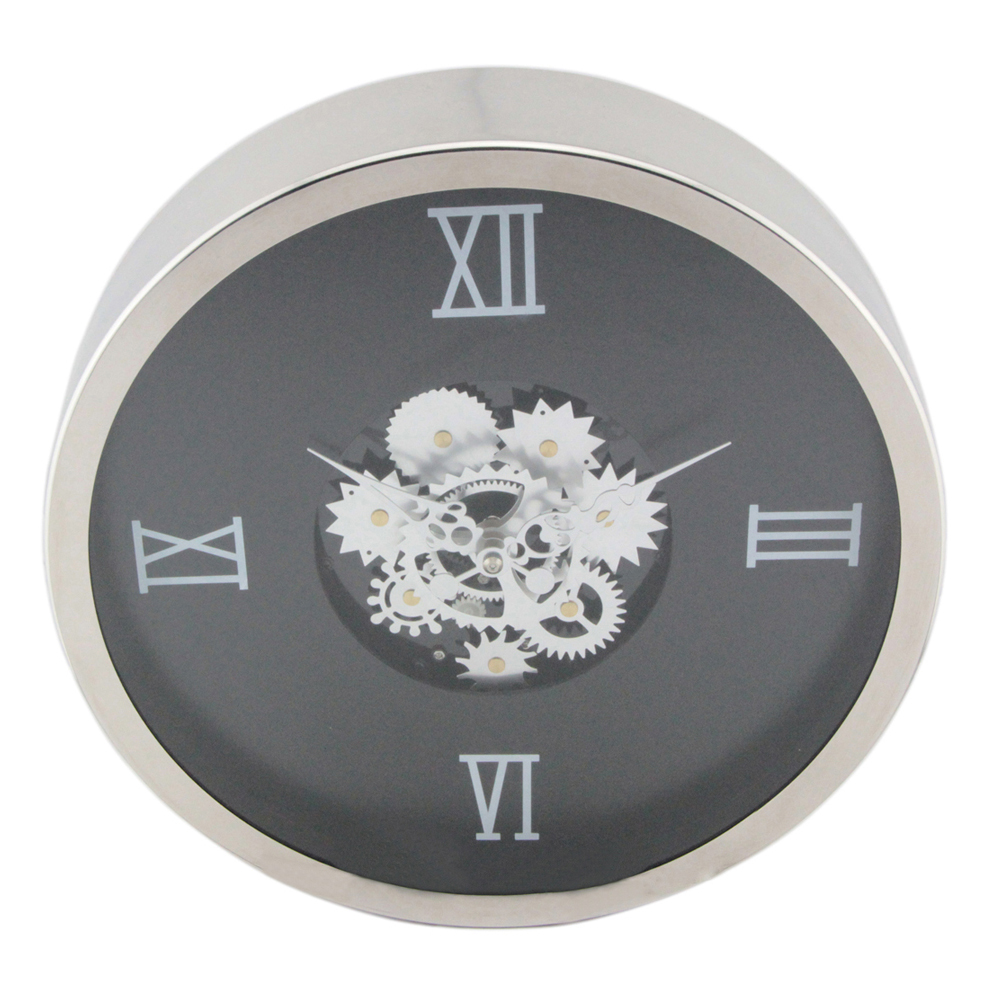 Exposed Gear Wall Clock