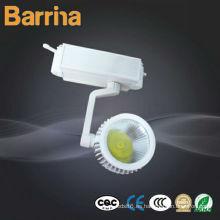 Alto CRI 15W lámpara LED COB pista
