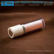 ZB-RC10 10ml Linda y perfecta de alta calidad todos plástico 10ml torcido botella privada de aire