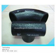 Accesorios de tubería de soldadura sin soldadura de aleación Sch40