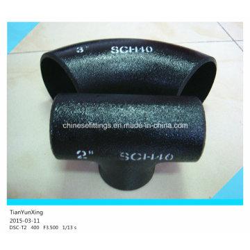 Sch40 Seamless Alloy Steel Butt Weld Pipe Fittings