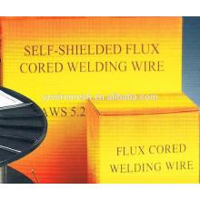 Bouclier de gaz Flux Cored Soudure Wire AWS E71T-7