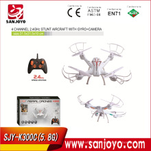 K200C 2.4G 4CH 6-axis Gyro RC Quadcopter Drone Helicopter 480P Camera UAV 2GB Card SJY- K200C