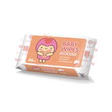 Toallitas húmedas biodegradables orgánicas para bebés