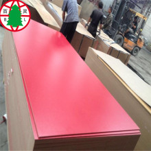 Colored melamine faced MDF Chinese good quality