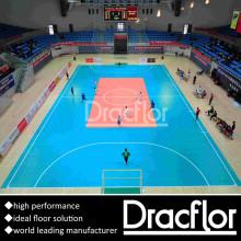 Plancher de soccer intérieur Plancher de sport en PVC