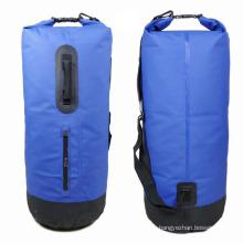 Открытый Кемпинг ПВХ 40 литров Водонепроницаемый рюкзак сухой мешок (YKY7207)