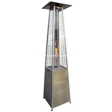 Deluxe LPG Outdoor Stainless Steel Patio Heater Pyramid