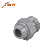 China supplier CNC manufacturing high quality pipe fitting 22.5 degree elbow hydraulic adapters fittings