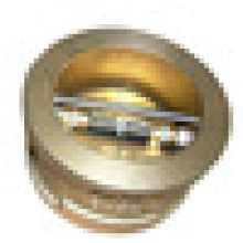 ANSI 150# Aluminum bronze double disc /dual plate wafer check valve