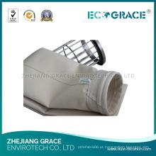 Saco de poeira de ar de pano de filtro de fibra PPS (amostra grátis)