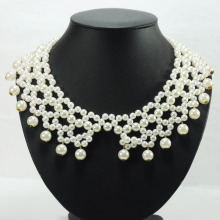 Koop Fake Collar Bridal Pearl Necklace