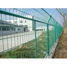 Clôture protectrice de cadre dans le revêtement / galvanisation de PVC