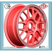 Колесо сплава красного сплава красного цвета конкурентоспособной цены красное для автомобилей