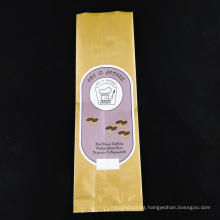 Pet/Al/PE Glossy Side Gusset Aluminum Foil Coffee Bag (MS-CB003)
