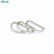 oem custom stainless steel shoe d-ring