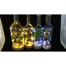 Wine Bottle Lights with LED String Lights