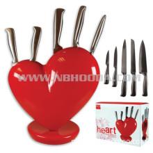 Heart Knife Block (HD0440)