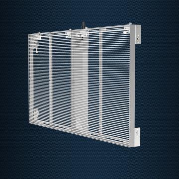 Прозрачный светодиодный экран цена
