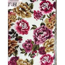 2017 Print Upholstery Velvet Fabric