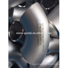 Courbure d'acier inoxydable de 304 316 polonais pour sanitaires, pièces d'automobile, pièces de moto