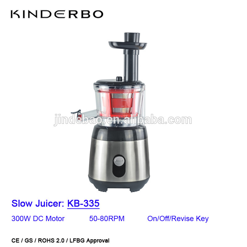 his slow masticating juicers crush and grind the fruits and vegetables to extract the juice, then filter out the pulp. It's low speed motor with high torque power prevents oxidation and preserves the live enzymes, nutrients, and essential vitamins destroyed by friction or heat. The motor can operate at low RPM and low noise level, offer you a great juicing experience. An excellent choice for gift, present and juice cleanse.