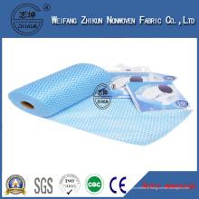Tissu non-tissé non-tissé Spunlace Spunlace de Spunlace non tissé