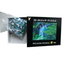 2015 Hot Sales Plastic 3D Puzzle para niños