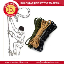 High vis reflective drawcord for shoes