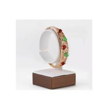 Деревянные покрытия белый PU часы Дисплей держатель бар (РВ-великих-Г1)