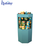 Supermercados venden productos a medida Cartón Volcado Bin Display, apilable Toy Storage Bin Rack