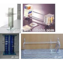 fil de conception personnalisée DVD CD acrylique mur présentoir