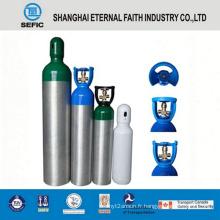 Chine Cylindre de gaz d'oxygène en aluminium à haute pression d'approvisionnement (LWH180-10-15)