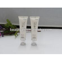 Embalagem de tubos cosméticos com tampa acrílica