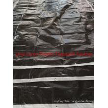 Black Silver PE Tarpaulin Cover