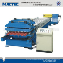 Máquina formadora de coberturas automática
