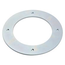 Anillo fuerte del imán del neodimio, anillo grande con los agujeros rectos.